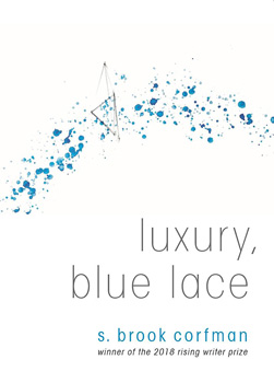 luxury blue lace corfman