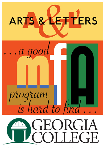 Georgia College & State University MFA in Creative Writing logo