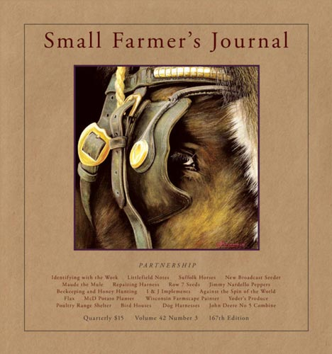 Small Farmers Journal cover