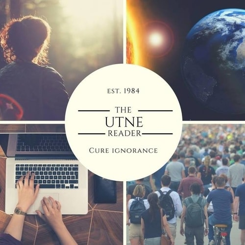Utne Magazine cover