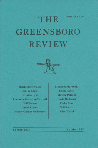 greensboro review spring 2020