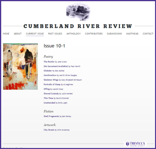 cumberland river review january 2021